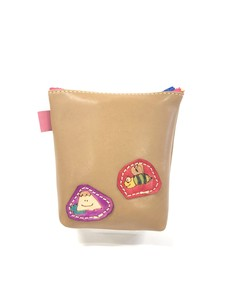 Case Make Up Pouch Fancy Goods Case Handmade Hand Maid Patch