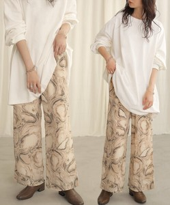 A/W Reserved items Marble Print Relax Pants