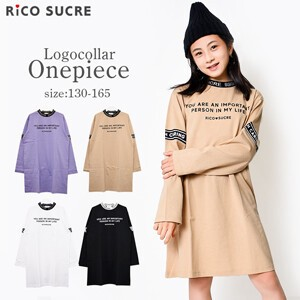 Switching One Piece Long T-shirt Long Sleeve Girl Children's Clothing