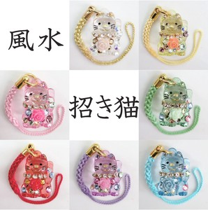 [ 2020NewItem ] Cell Phone Charm Feng Shui Beckoning cat