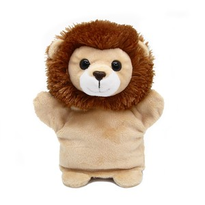 Nature Kids Hand Puppet LION Soft Toy