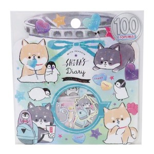 Flake SEAL DIARY Sticker Set