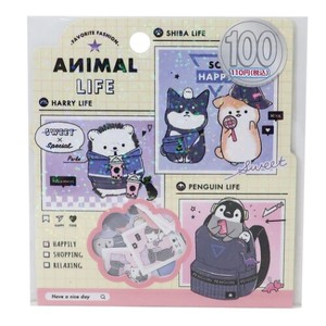 Flake SEAL ANIMAL Sticker Set