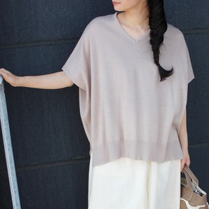 """2020 New Item"" V-neck Half Length Top"