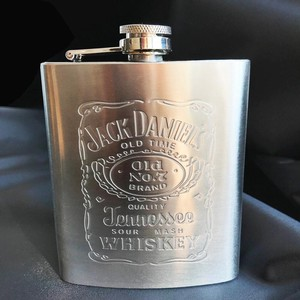 [ 2020NewItem ] Portable Stainless Hip Flask Alcohol Bottle