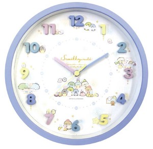 Sumikko gurashi Icon Wall Clock Blue