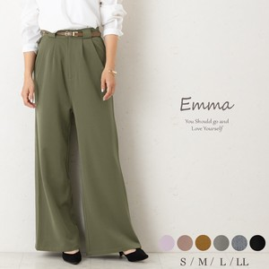 [ 2020NewItem ] wide pants Tuck Flare Full Length