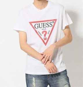 GUESS/(M)MEN'S S/SLV TEE SHIRT 半袖Tシャツ