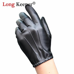 [ 2020NewItem ] Long Fashion Leather Glove Men Style Men Glove