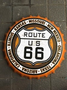 Route 66 Plate Display