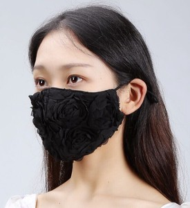 Mask Ladies rose Flower Mask 4 Colors