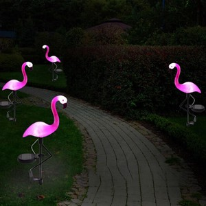 LED Light Flamingo Lamp Waterproof Light Outdoors Decoration Lighting
