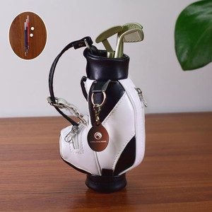 [ 2020NewItem ] Golf pen Holder pen Decoration Bag Golf Gift Fur Fan