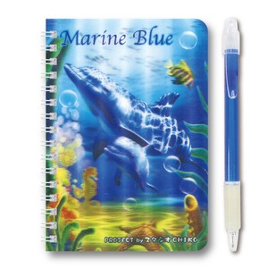 Notebook Dolphin Blue