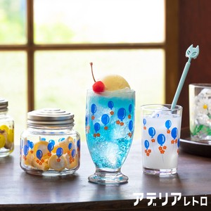 Aderia Retro Balloon Cup Attached Glass Bonbon