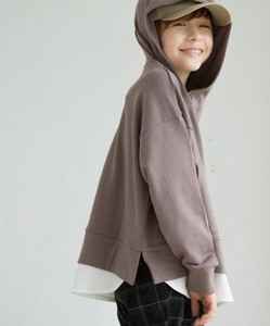 Unisex Fleece Waffle Wide Silhouette Long Sleeve Long Hoody