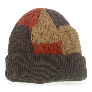 Patchwork Knitted Watch Cap Young Hats & Cap
