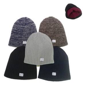 Reversible Single Knitted Watch Cap Young Hats & Cap