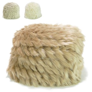 Eco Fur Knitted Young Hats & Cap