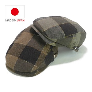 Cotton Checkered Flat cap Young Hats & Cap