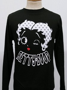 【2020AW】SPBT-93245:BettyBoop(ベティブープ)長袖天竺Tee