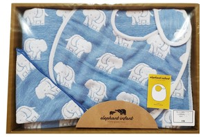 Elephant Fan Baby Gift Blue