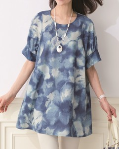 For Summer Floral Pattern Print Print Tunic