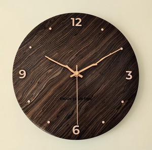 Wooden Wall Clock Home Living Clock/Watch Decoration