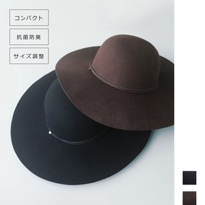 Compact Specification Felt Broad-brimmed Hat