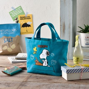 Snoopy Cotton Lunch Tote