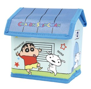 """Crayon Shin-chan"" Mini House type Storage Box White"