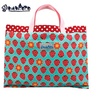 "Picture Book Blue Lesson Bag Standard Hand Maid Tote Bag ""2020 New Item"""