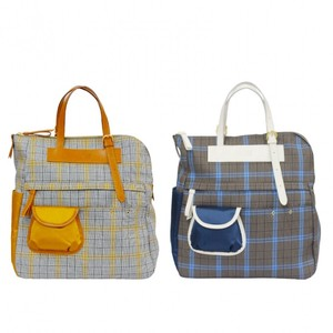 Backpack Fabric Checkered