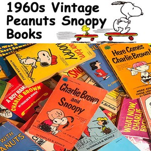Vintage Snoopy Picture Book Comic Book