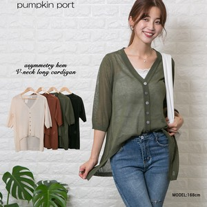[ 2020NewItem ] Thin Knitted V-neck Long Cardigan