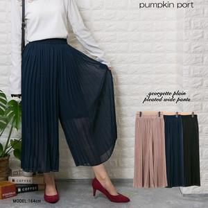 [ 2020NewItem ] Korea Plain Pleats wide pants Scants