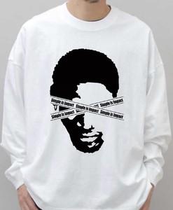 2020新作 T-shirt long バスケ NBA ロンT  白 スニーカーヘッズ スケーター