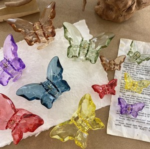 Resin Butterfly Hair Clip