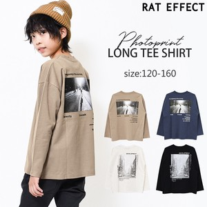 A/W Photo Print Long T-shirt Boys Children's Clothing