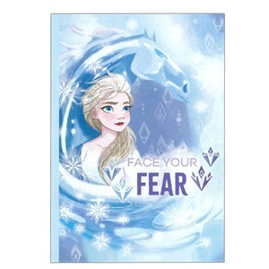 Disney Frozen B5 Notebook 7mm Ruled Line