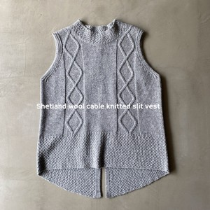 Land Wool Cable Knitted Vest [ 2020NewItem ]