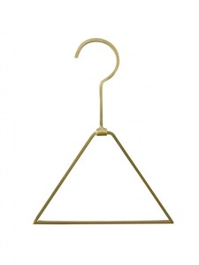 Brass Brass Triangle Clothes Hanger