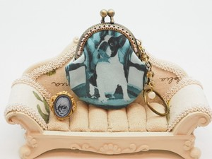 [ 2020NewItem ] Feeling Coin Purse Bag Charm Base Chair French Bulldog Dog