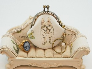 [ 2020NewItem ] Feeling Coin Purse Bag Charm Base French Bulldog Dog