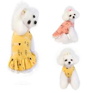 2020新作 犬服 犬 Tシャツ スポーツウェア 小象のスカート ペット用品(S-XXL)