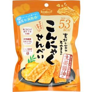 ※こんにゃくせんべい 生姜醤油味 15g【食品】