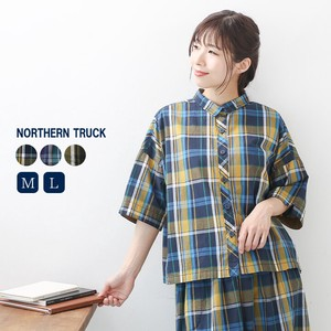 Rack Checkered Blouse Ladies Tartan Check