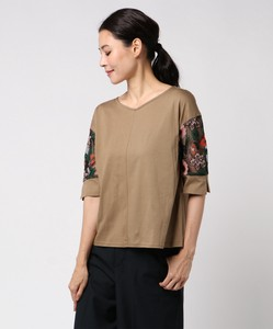Botanical Embroidery Top