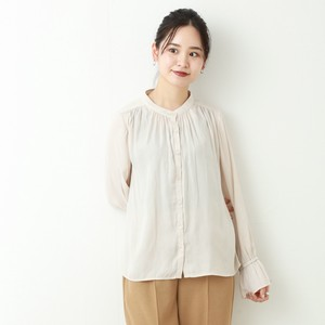 Soft Stand Neck Blouse A/W