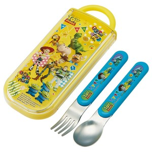 Toy Story Wash In The Dishwasher Ride Spoon Fork Set Made in Japan